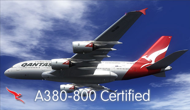 Airbus A380-800 Endorsement