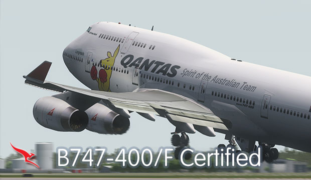 Boeing 747-400 Endorsement