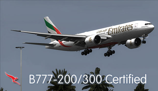 Boeing 777-200/300 Endorsement