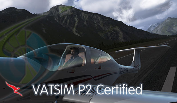 VATSIM P2 Rating