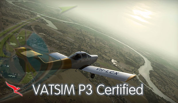 VATSIM P3 Rating